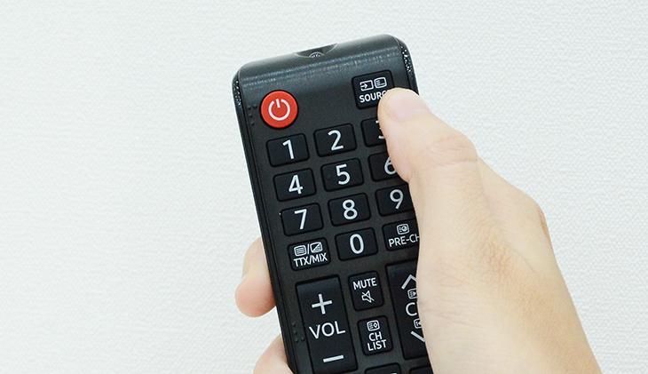 Cách dò kênh tivi Samsung thường