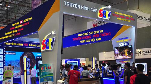 SCTV khóa mã thêm 10 kênh truyền hình số